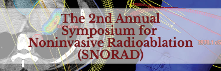 2nd Annual Symposium for Noninvasive Radioablation Announced