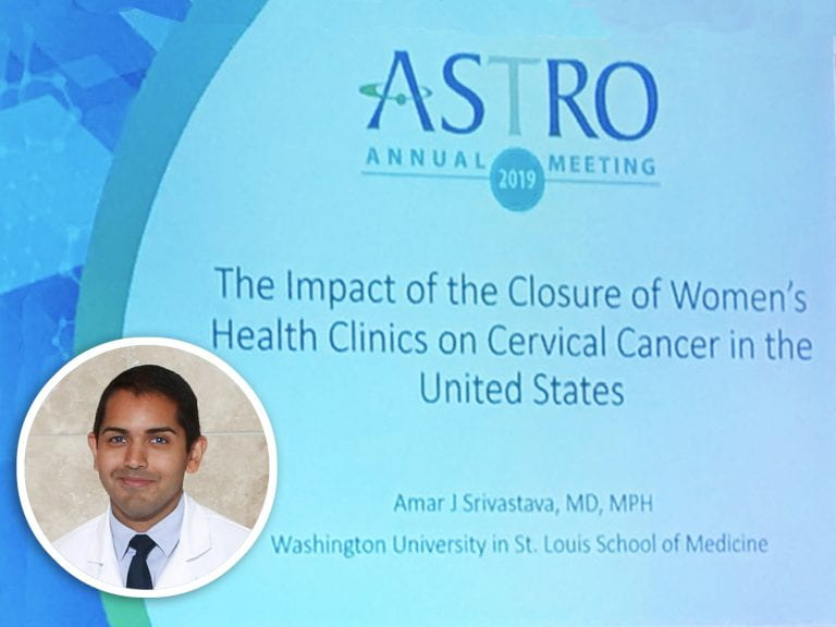 Amar Srivastava, MD, gets National Attention for his ASTRO Talk