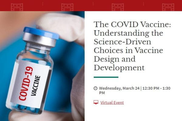 Curiel to discuss vaccines for the WashU Brown School