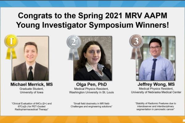 Pen brings home the silver at spring 2021 Young Investigator Symposium