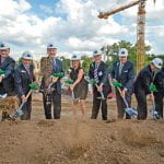 Ground breaking for Brown Hall expansion