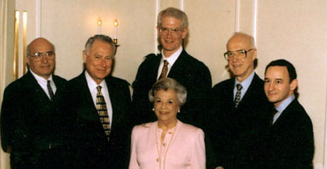Center for Aging founders - 1998