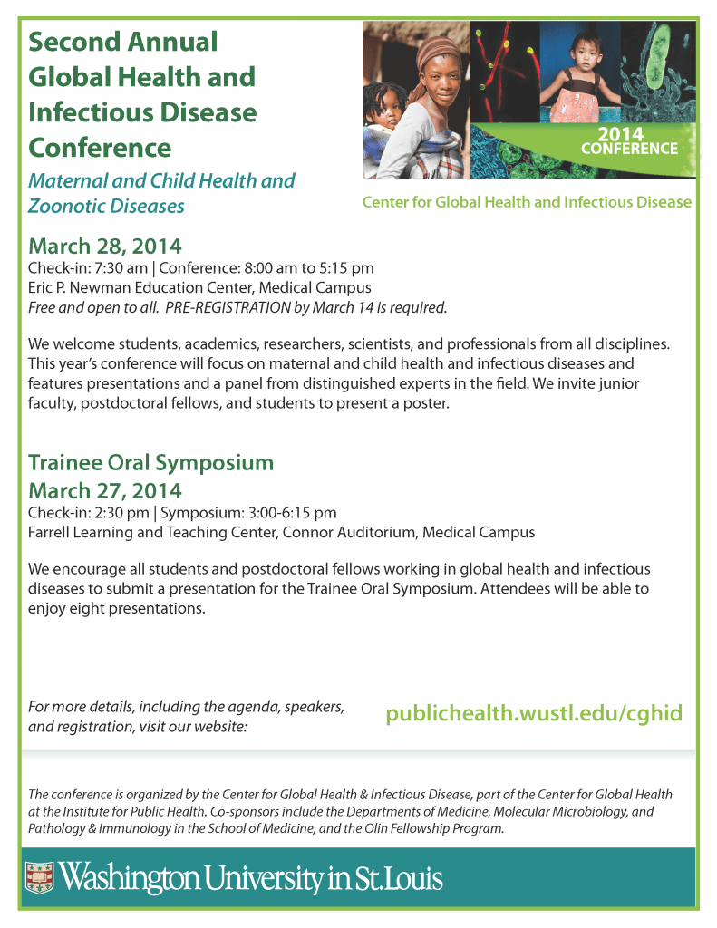 2014 CGHID Conference Flyer