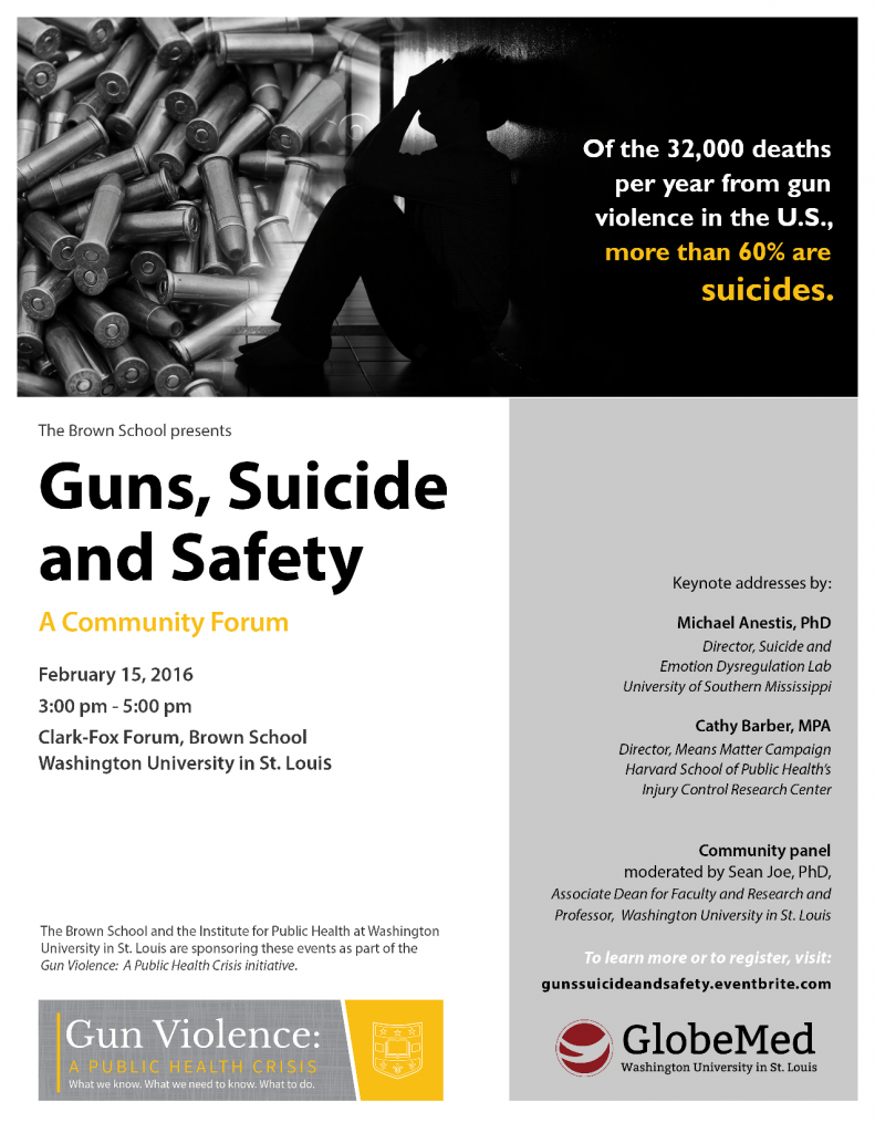 Guns Suicide and Safety Community Forum_2wlink