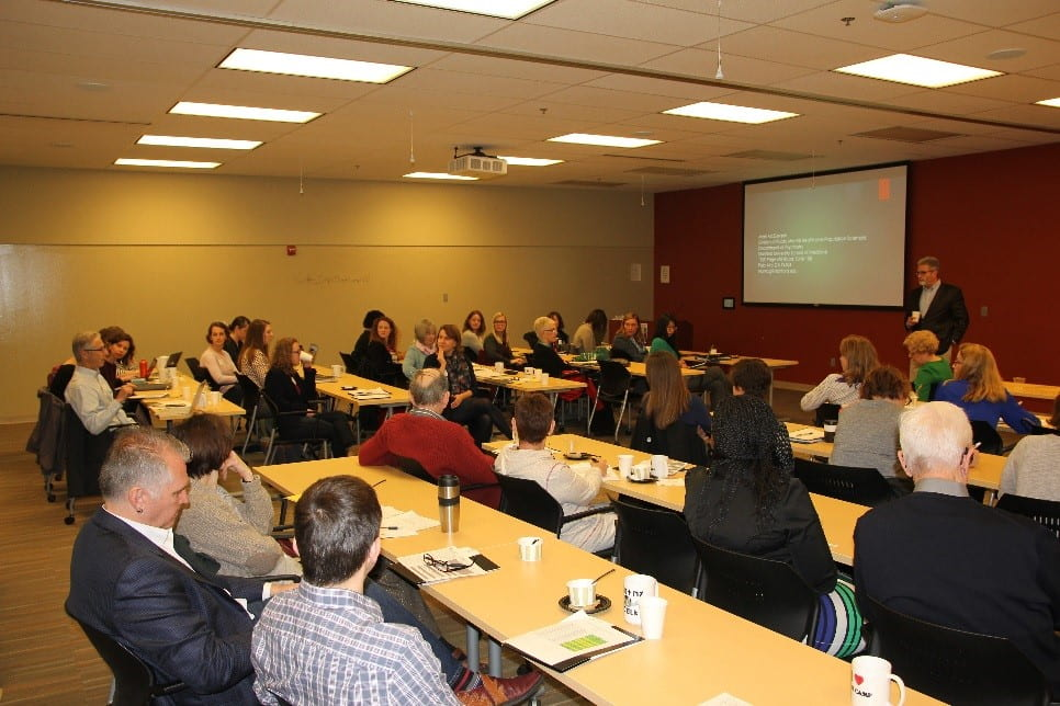 Attendees of the third annual Bootcamp enjoyed a talk by Mark McGovern.