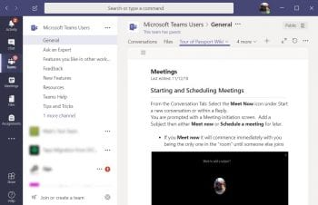 Microsoft Teams Sample Page