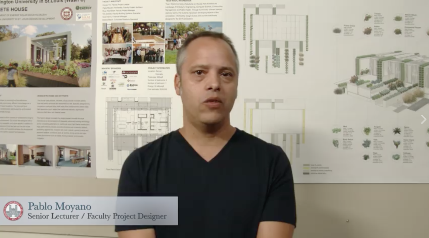 Pablo Moyano talks about the design of CRETE House.