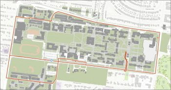 WashU Campus Circulator Route