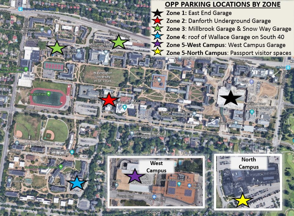 OPP zone map