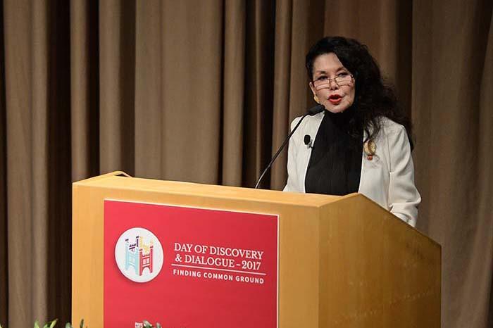 Janice Mirikitani speaking