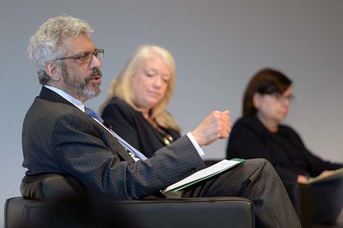 higher ed leaders panel
