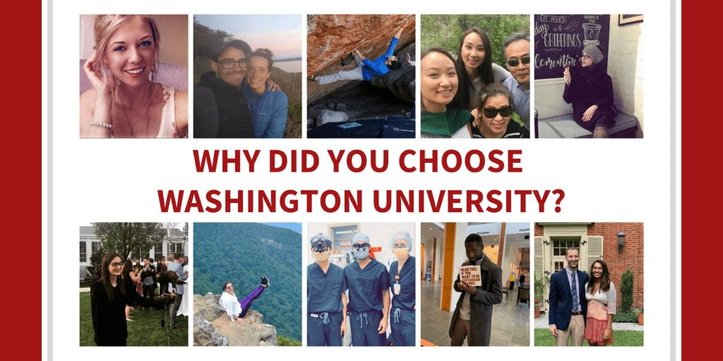Ask the Residents: Why Did You Choose Washington University?