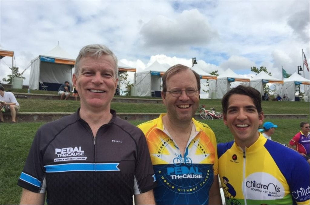 Urology Team Earns Pedal the Cause Lifetime Bronze Impact Society Achievement