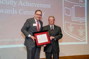 Rudy Received the Chancellor's Award for Innovation and Entrepreneurship