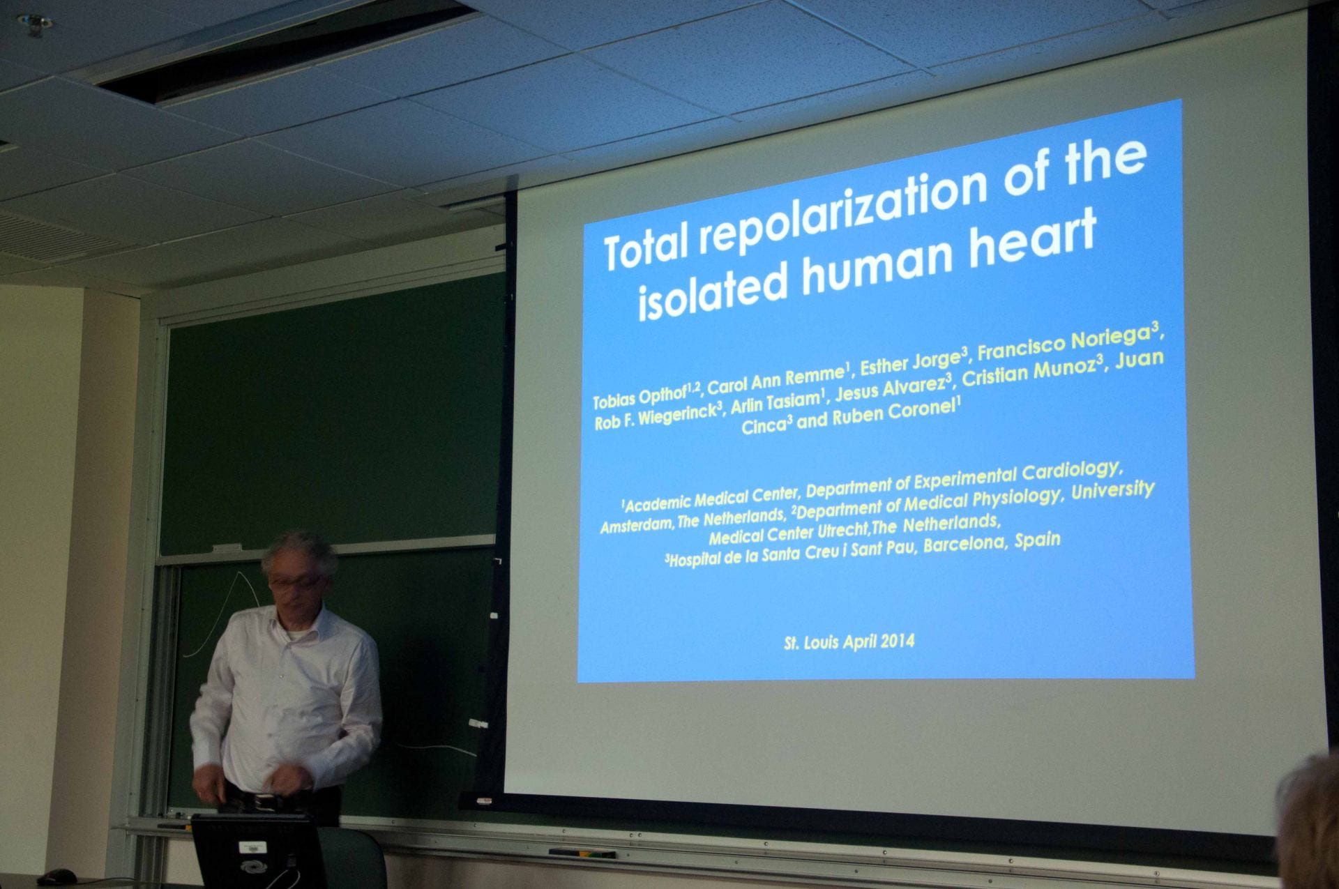"CBAC Symposium: Repolarization of the Human Heart: ""Understanding the T – Wave"""
