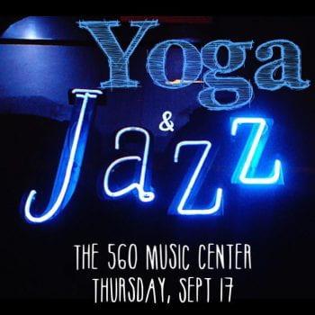 Yoga and jazz