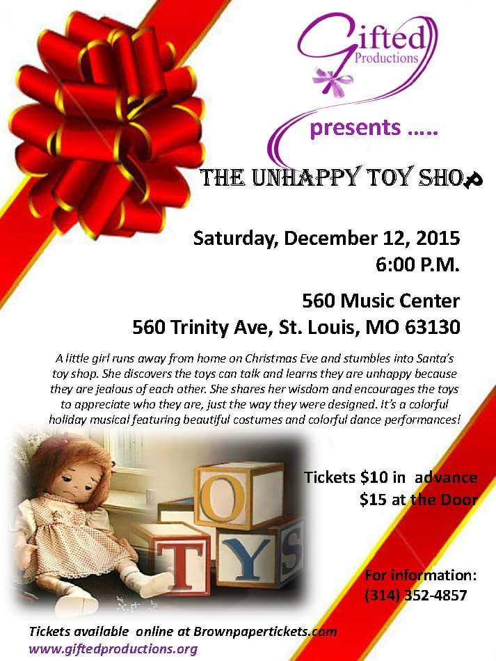 Unhappy Toy Shop Flyer