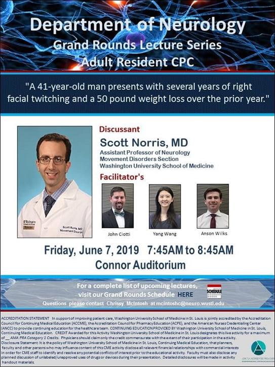 Neurology Grand Rounds: Scott Norris (WashU Neurology