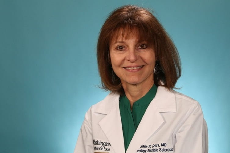 Anne Cross honored for multiple sclerosis research