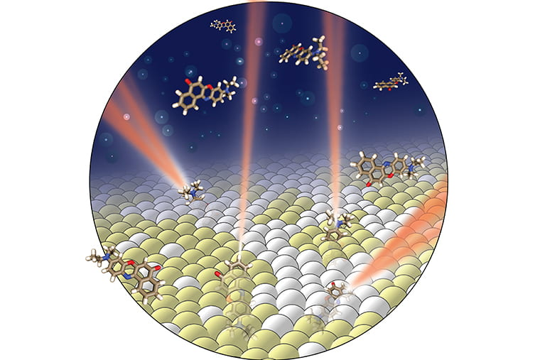 Using light's properties to indirectly see inside a cell membrane