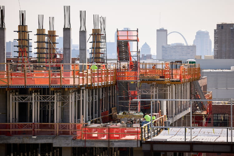 Construction of neuroscience building perseveres despite pandemic