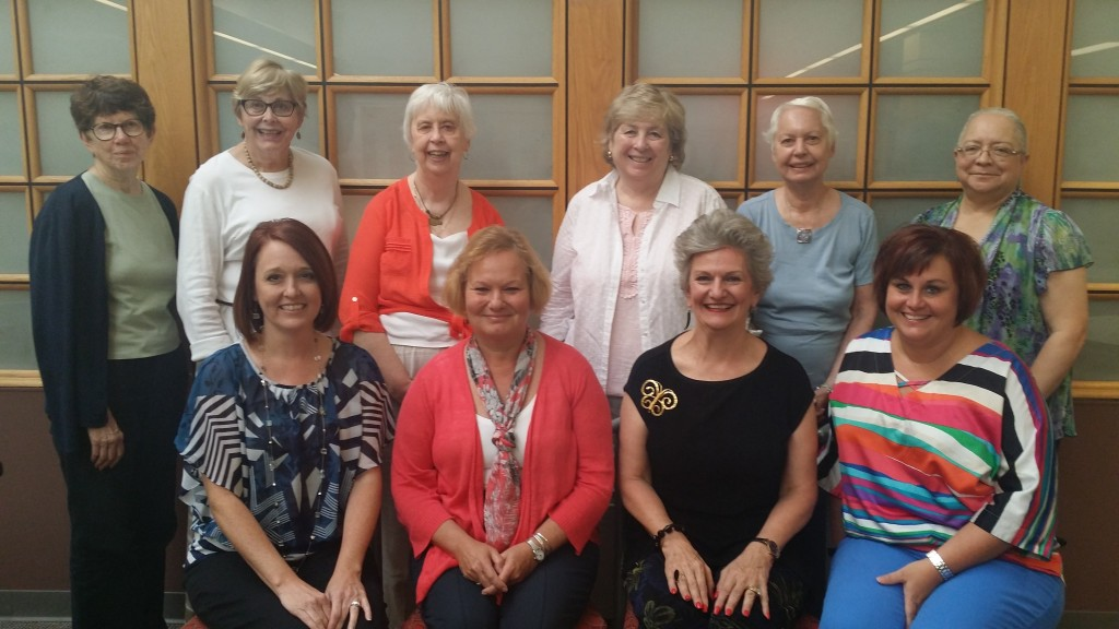 2015-2016 Board Members posed photo of the women