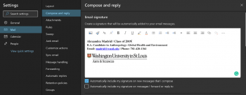 How to Create an Outlook Signature