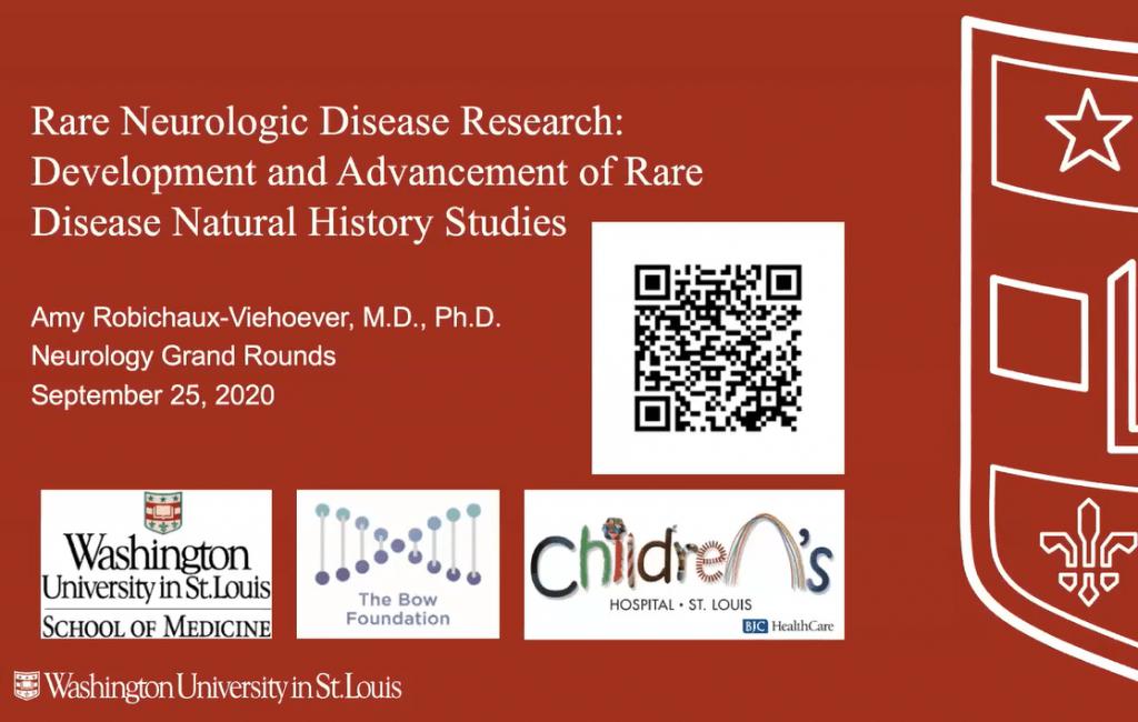 Rare Neurologic Disease Research: Development and Advancement of Rare Disease Natural History Studies