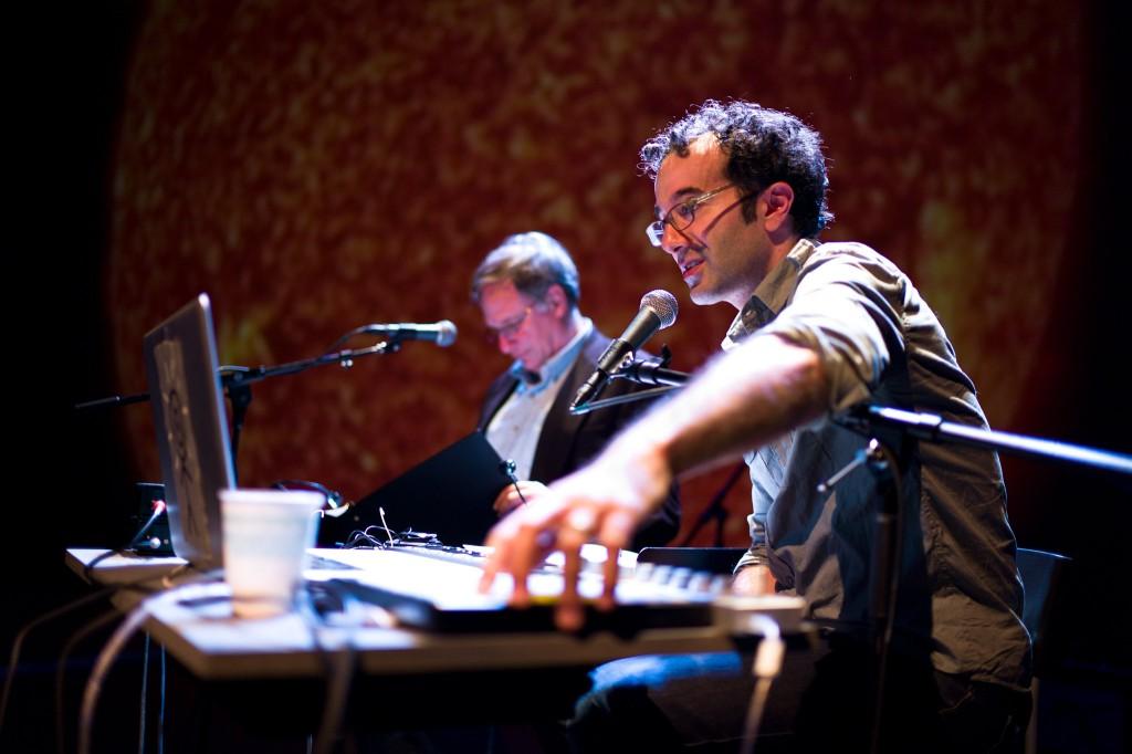 Radiolab hosts  Jad Abumrad and Robert Krulwich
