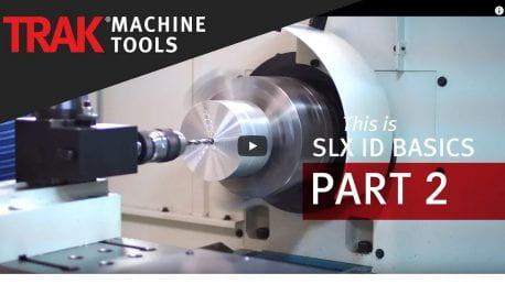 SLX ID Tapping & Drilling (ID basics part 2)