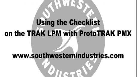 LPM Using the Checklist