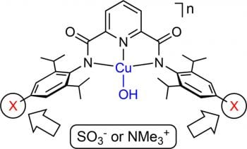 Effects of Charged Ligand Substituents on the Properties of the Formally Copper(III)-Hydroxide ([CuOH]2+) Core