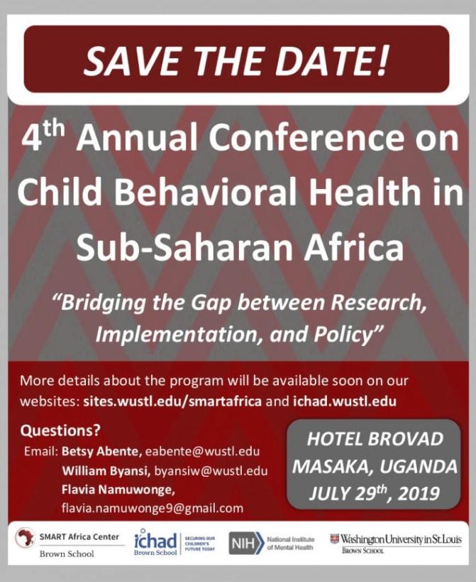 4th Annual Conference on Child Behavioral Health in SSA