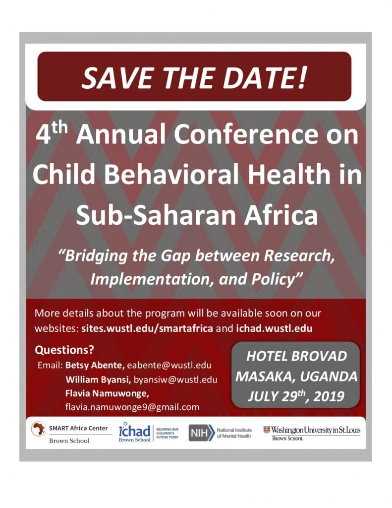 4th Annual Conference on Child Behavioral Health in SSA | SMART