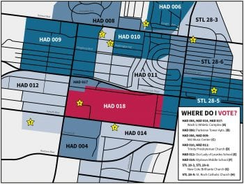Polling Places Near WashU