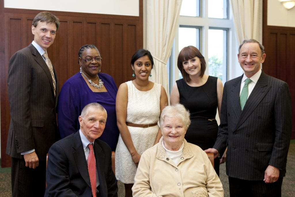 2012 Ethic of Service Award Honorees