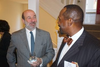 National Council members Matt Seiden and Leroy Nunery at 10th Anniversary events in Washington, DC this spring.