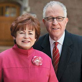 """Maxine Clark and Bob Fox help those our society has neglected or left behind. """"Our personal goals are to give back to the community that has been so good to us,"""" they say."""