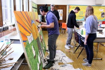 Community Mural Mobilizes Support for Dunbar Elementary School