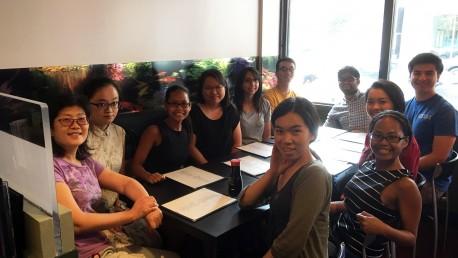 Group lunch @ Chi Sushi Sake (2016-07-29)