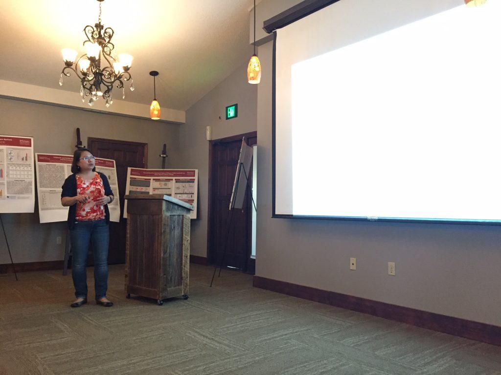 Dr. Chen presented at the CBD annual retreat.