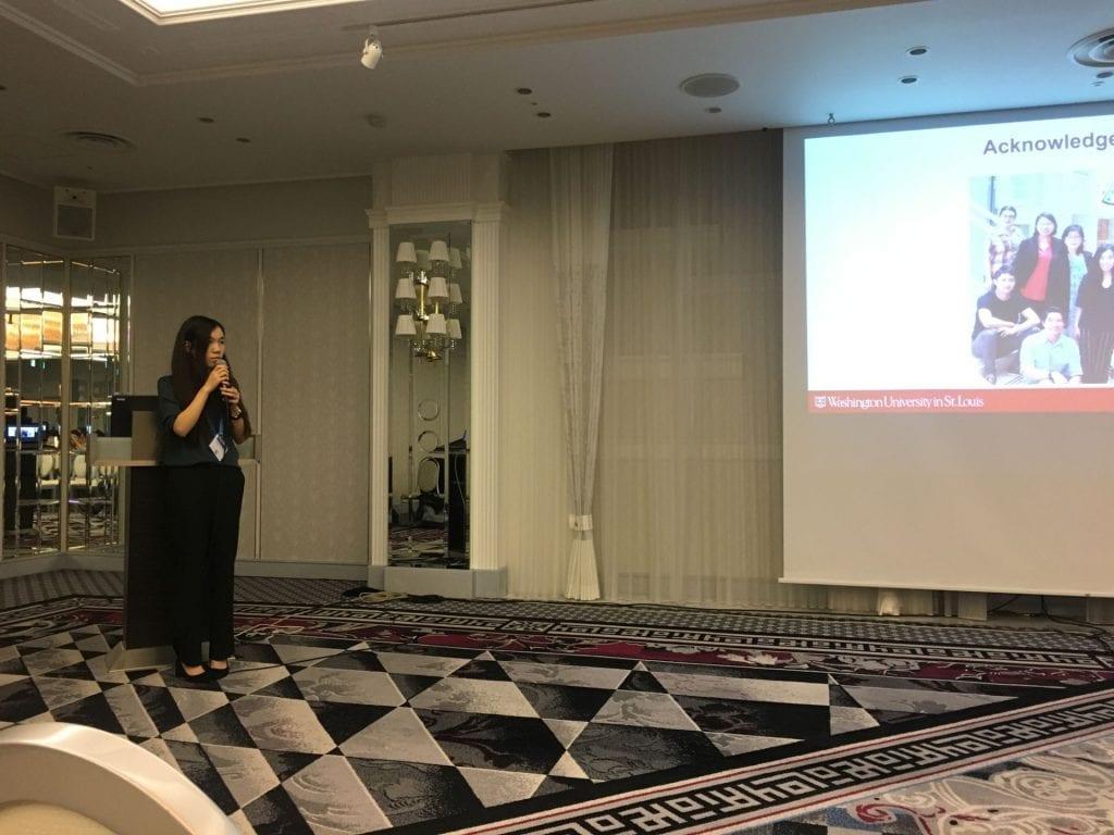 Summer gave her talk at 2018 IUS in Kobe, Japan!