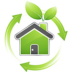 Logo for Green Housing.