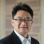 Headshot of Hongxi Yin, the I-CARES Associate Professor in the Sam Fox School.