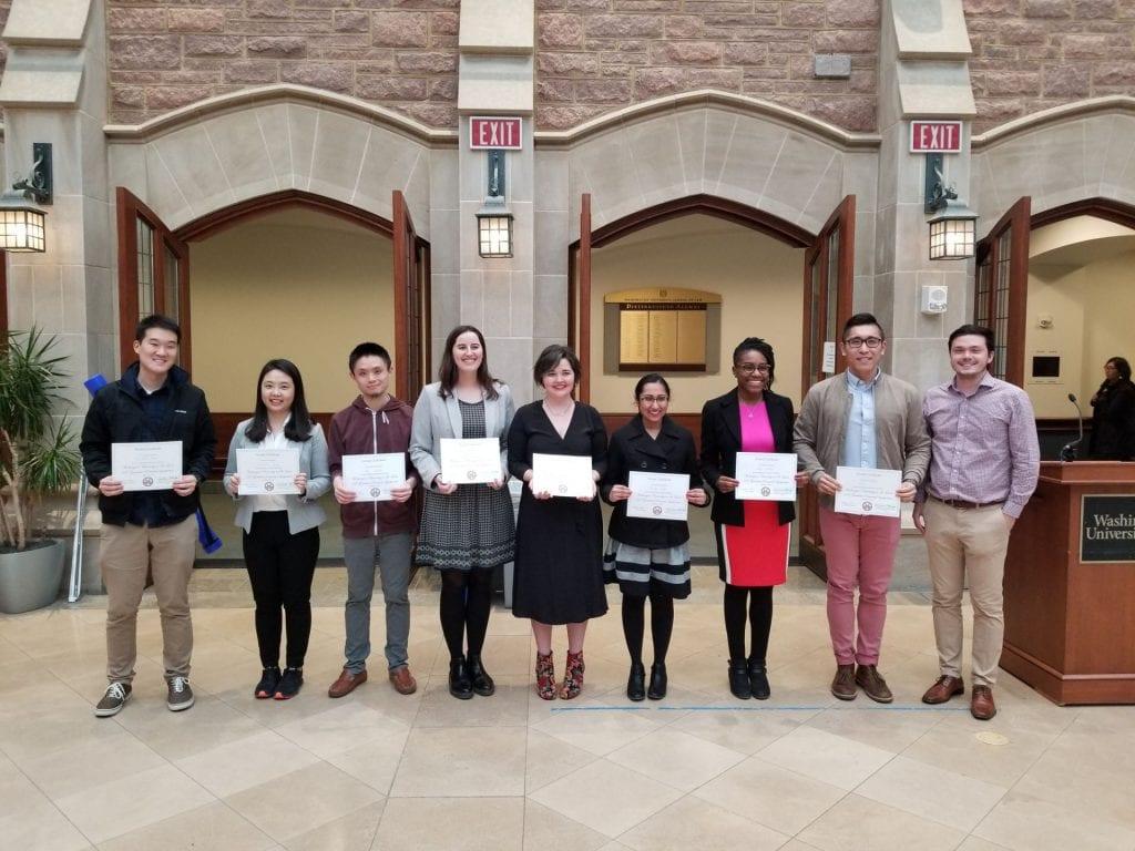 2019 Graduate Research Symposium winners
