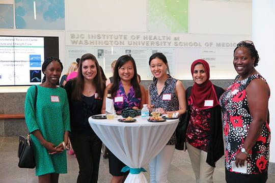 Left to Right: Ann-Marcia Tukpah, MD; Desirai Rogan, MD; Han Li, MD; Chi-Joan How, MD; Pauras Memon, MD; Fiona Strasserking, MD