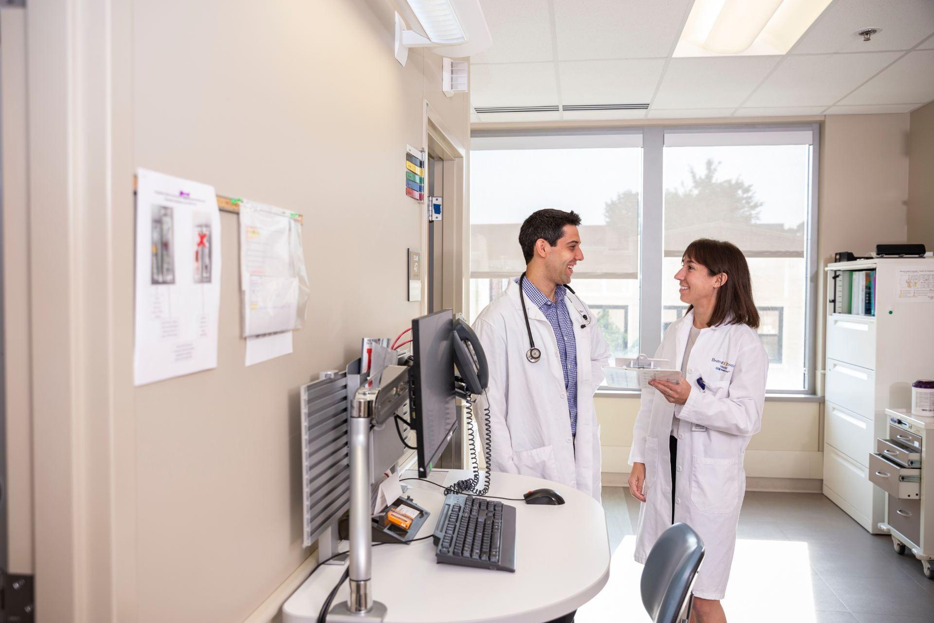 Left to Right: Jason Ross, MD & Stephanie Socias, MD