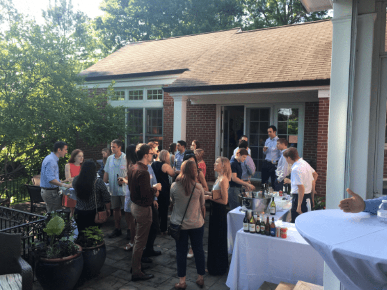Intern Welcome Party at Dr. Fraser's