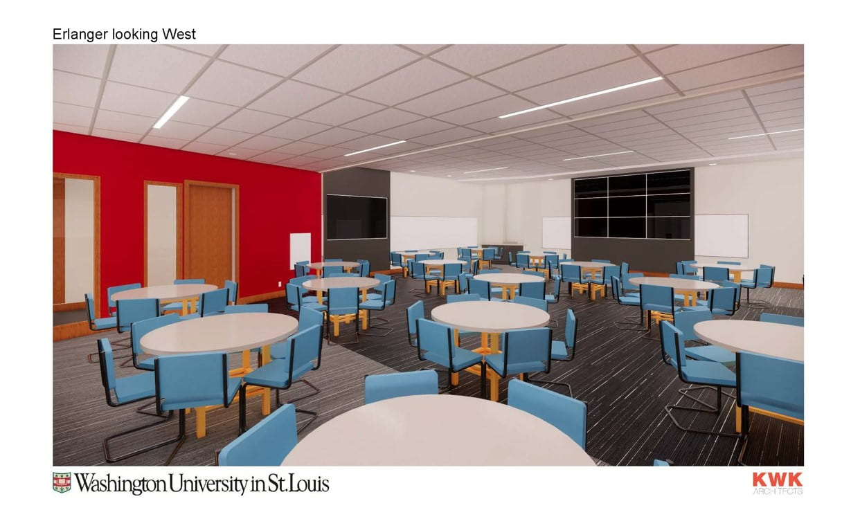WUSM Planning & Projects: Cori and Erlanger Renovation - rendering 3