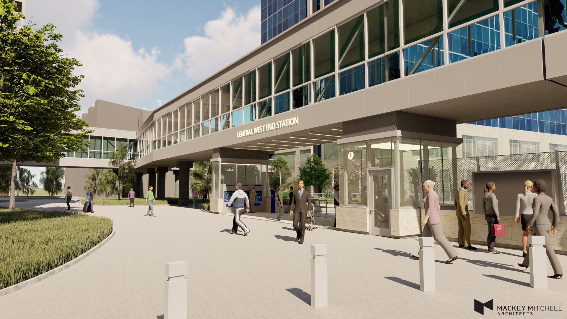 WUSM Projects & Planning: CWE MetroLink Station Renovation
